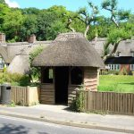Thatched roofs at Laverstoke